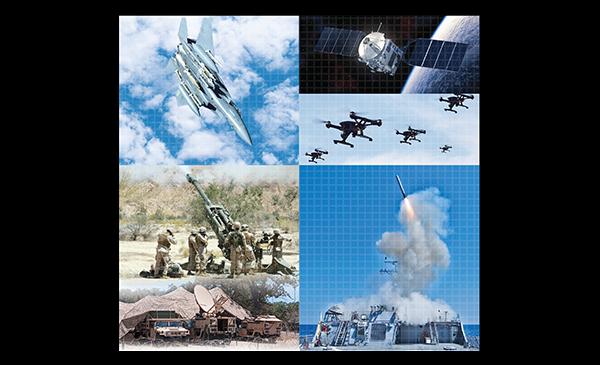 Various weapons systems