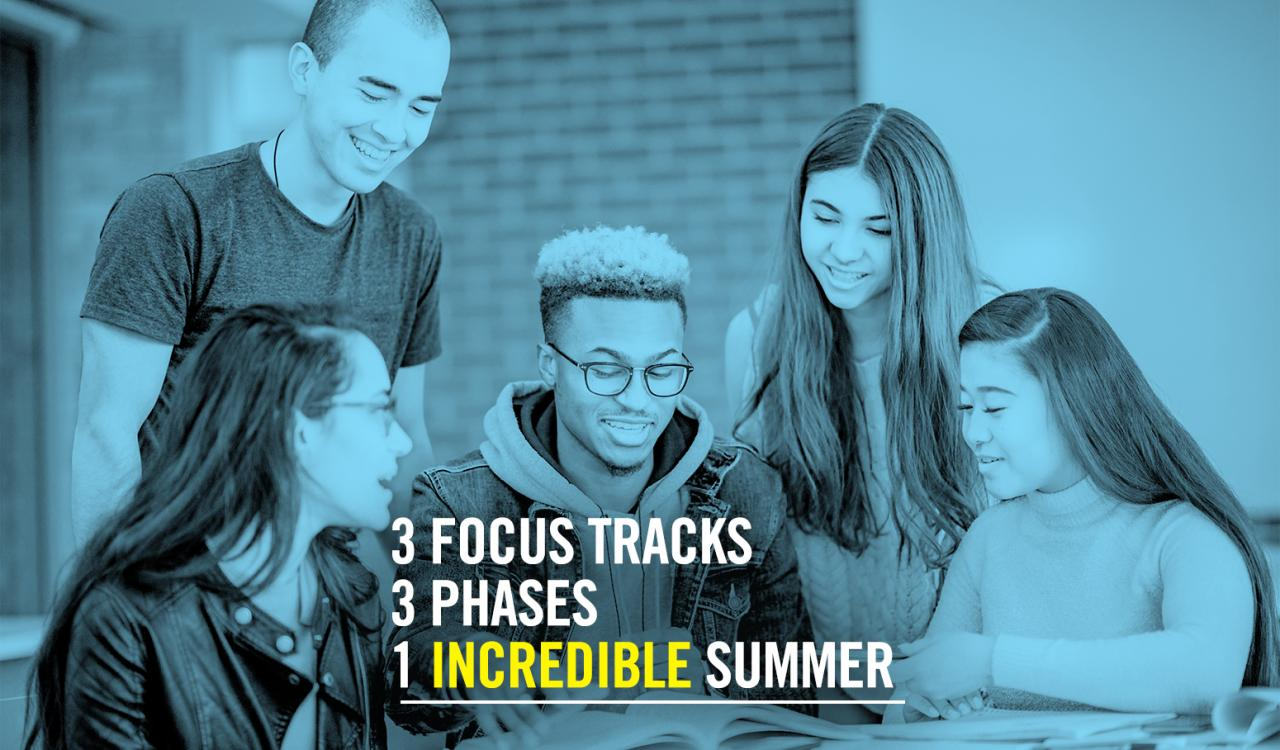3 Focus Tracks, 3 Phases, 1 Incredible Summer