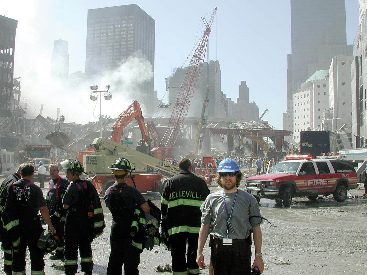 Dr. David Kaplan at the WTC