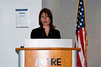 "NTSB chairman Debbie Hersman applauded MITRE's initiative to shed light on human fatigue. ""Fatigue has been on our 'Most Wanted List' of transportation safety improvements every year..."""