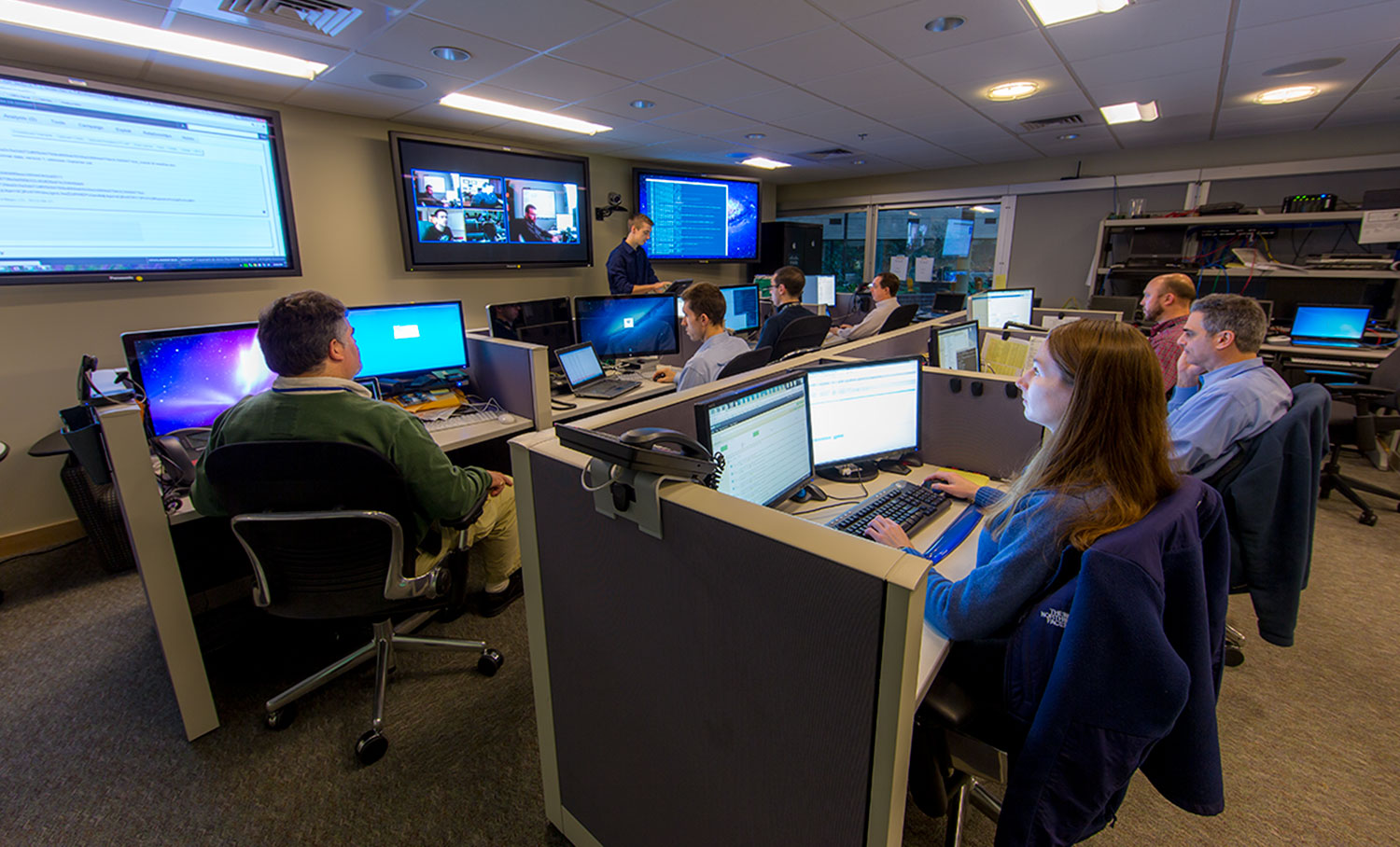 MITRE's Cyber Security Operations Center Helps Sponsors Keep