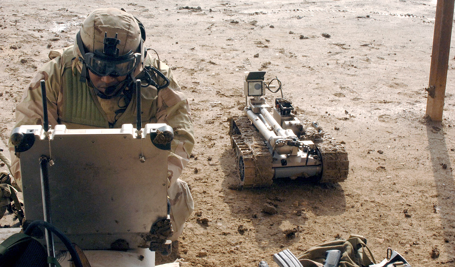 Immersive Vision Gives The Best Control To Military Robots