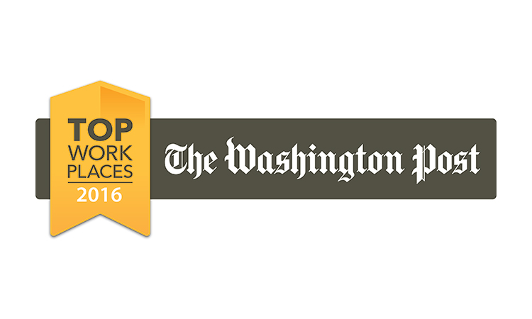 The Washington Post Top Workplaces list for 2016