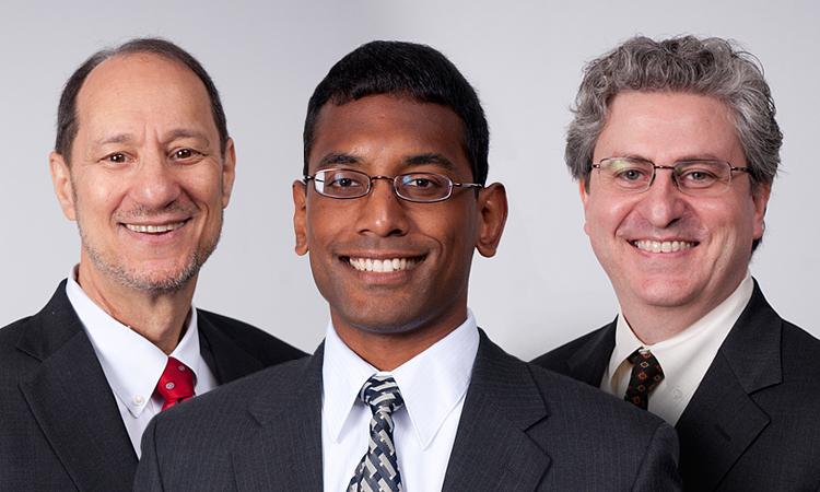 James Ellenbogen, Shamik Das, and Jim Klemic.