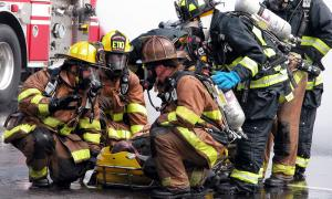First responders increasingly rely on digital apps instead of paper maps.