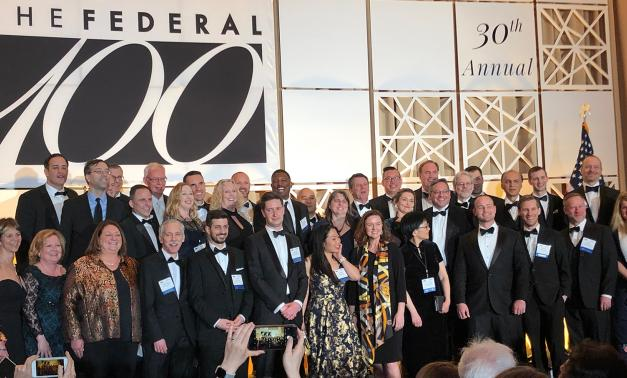 Federal 100 awardees at award ceremony