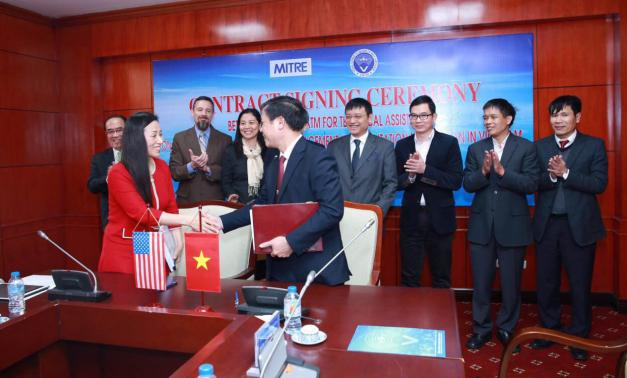 MITRE Signs Contract with Vietnam Air Traffic Management Corporation
