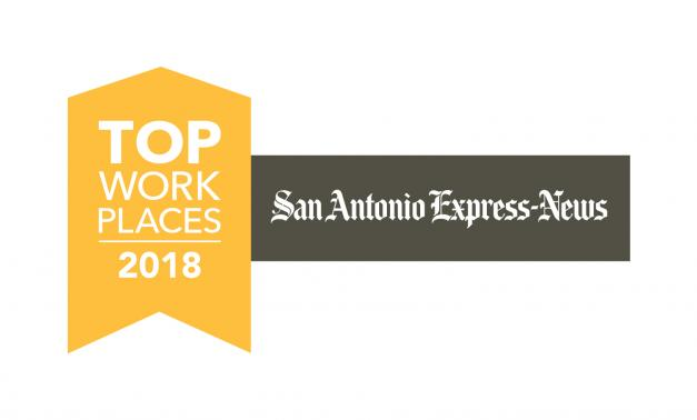 San Antonio Express-News Top Workplace for 2018 logo