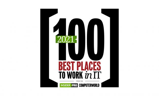 Computerworld Best Places to Work in IT 2021 logo