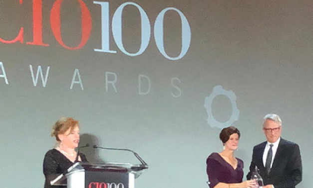Joel Jacobs receives CIO 100 Award