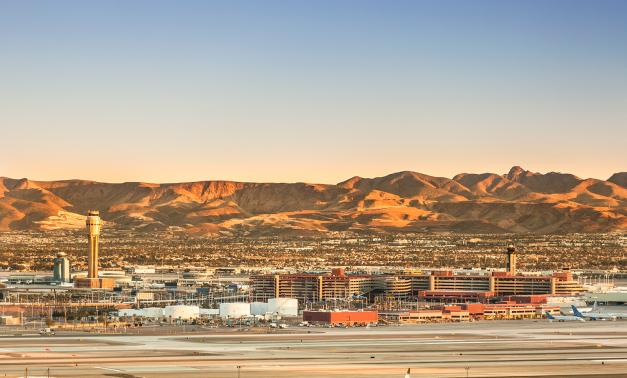 McCarran International Airport in Las Vegas Nevada
