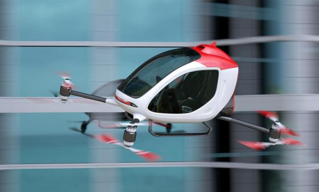 Electric passenger drone.