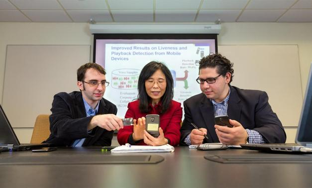 MITRE researchers test Bio-BAM voice authentication software.