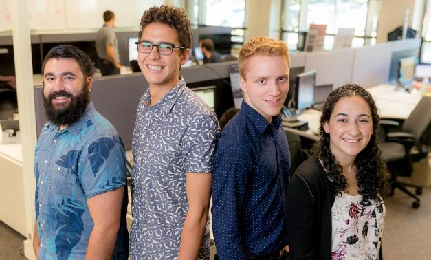 MITRE cybersecurity interns get hands-on experience in Bedford, Massachusetts.