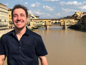 MITRE intern Alvin Beery traveling abroad